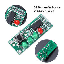 Battery Capacity Indicator 4 LEDs Display for 3S Battery 9-12.6V Hot Selling