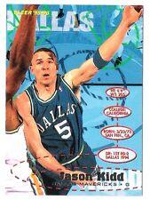 Jason Kidd 1995-96 Fleer Dallas Mavericks Insert Basketball Card