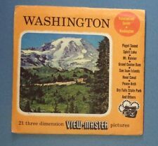 Vintage View-Master Reels Packets Geographical, Historic & Entertainment Topics