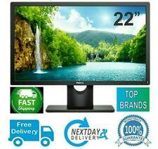 "CHEAP Monitor 22"" Inch PC Computer LCD LED DVI TFT HD FLATSCREEN DELL HP LENOVO"
