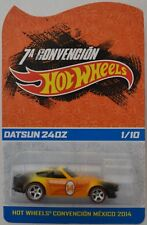 Hot Wheels 2012 Mexico Convention Datsun 240Z Custom w/ Real Riders LE