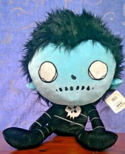 "Dr Krinkles Creep Kids Plush Toy Jumbo 27"" EMO Zombie Boy 2011 With Tag (2021)"