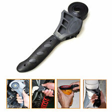500mm Rubber Strap Wrench Universal Black Wrench Adjustable Spanner