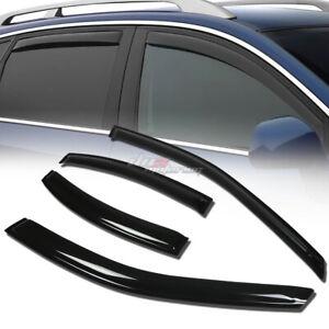 FOR 00-06 LINCOLN LS 4DR SMOKE TINT WINDOW VISOR SHADE/VENT WIND/RAIN DEFLECTOR