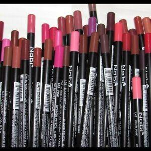 Nabi Long Pencil Lip Liner Rose, Brown, Cafe Red Set of 12 Pcs Assorted Lipliner