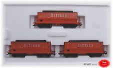 "Märklin 48448 Ensemble de Wagons 3 "" Erz-Transporter "" Sncb # Neuf #"
