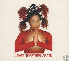 JANET JACKSON - Together Again - Deleted 1997 UK CD