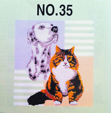 DOGS & CATS #35 Embroidery Memory Card - Brother, Baby Lock, Bernina Deco .pes