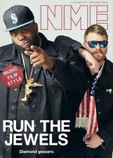 The NEW MUSICAL EXPRESS NME 20 JANUARY 2017 Run The Jewels Front Cover n.m.e.