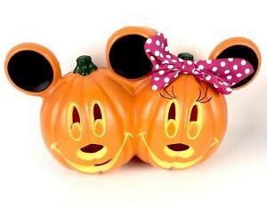 Mickey & Minnie Mouse Pumpkin Blow Mold JOL Jack O Lantern HALLOWEEN Light Up