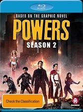 Powers : Season 2 (Blu-ray, 2018, 3-Disc Set)