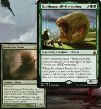 Grothama, All-Devouring WURMS Commander Deck EDH Magic MTG Ready-to-Play Green