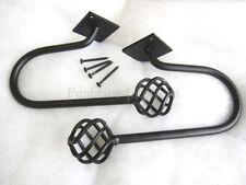 Accessoires noirs pour rideau et store Chambre à coucher