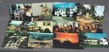 Vintage Lot of 12 Gettysburg Pennsylvania Souvenir Postcards