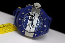 Invicta 6639 S1 Track Edition Swiss GMT Blue White 52mm 100m Mens Racing Watch