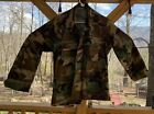 US Army Combat Coat Medium Short Woodland Camo
