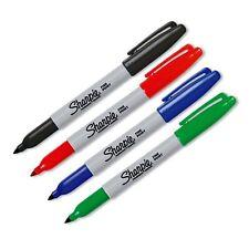 4 Pack un Pennarello Marcatore permanente Penne Set Belle Penna punto GRATIS P&P