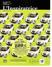 Publicité Advertising 037  2006  Lancia Ypsilon Elefantino