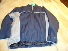 MENS OLDER STYLE NIKE FIT RUNNING JACKET XL  NAVY  PERFECT