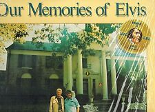 MFD IN CANADA TAN LABEL STEREO AQL1-3279 ROCK LP ELVIS PRESLEY : OUR MEMORIES