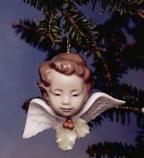LLADRO | Seraf With Holly *BRAND NEW* Ornament SERAFIN CON ACEBO Xmas 6394 RARE