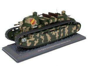 Char FCM 2C - 1939 1:43 Legends of Armored Vehicles DeAgostini Russia