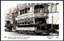 Postcard - Bus/Tram - M471 M.E.T. Car No. 157 on Route 60