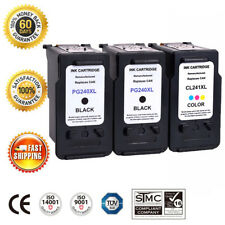 3 Pack PG-240XL CL-241XL Ink Cartridge For Canon PIXMA MG2140 MG3122 MX392 MX439