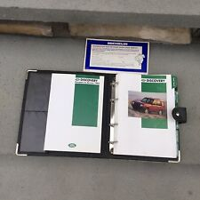 1995  Land Rover Discovery Owners Manuals SET OEM GENUINE