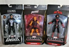 Hasbro- Marvel Legends- Walgreens Exclusives- Ant-Man, Daredevil, The Punisher