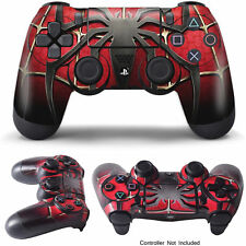 PS4 Controller Skin Spidermen for Sony PlayStation 4 DualShock Wireless Decal