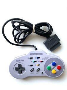 AsciiWare ASCII Pad Turbo Controller Super Nintendo SNES Tested + Working!