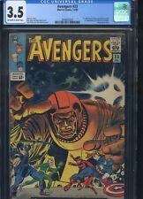 Avengers #23 CGC 3.5 1st Appearance of Ravonna Renslayer