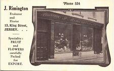 More details for jersey. j.rimington fruiterer & florist, 13 king street. shop.