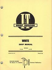 """WHITE 2-135 and 2-155  TRACTOR I+T SHOP MANUAL W-2 """"NEW"""""""