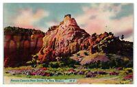 Mid-1900s Navajo Canyon near Santa Fe, NM Postcard
