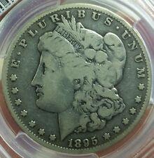1895 S MORGAN DOLLAR GRADED VG 8 BY PCGS!!!!!PCGS VALUE $490!!!!!