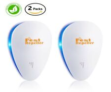 New listing Ultrasonic Pest Repeller, 2 Pack, Electronic Plug In, Safe For Humans and Pets