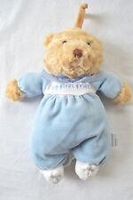 Bright Future Musical Teddy Bear My First Friend Baby Plush Toy Blue Bunny Feet