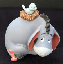 "Vtg DISNEY Ceramic Pooh & Friends EEYORE NEW FRIENDS HOW NICE 4 1/2"" Figurine"