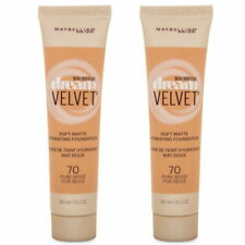 2 X 70 PURE BEIGE Maybelline Dream Velvet Soft-Matte Hydrating Foundation