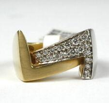 Ringe mit Diamanten in Gelb für Damen