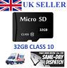 32GB Micro SD Card Class 10 TF Flash Memory Mini SDHC SDXC - 32G - NEW - UK 2018
