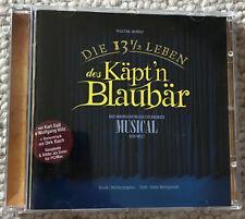 NEU CD: Die 13 1/2 Leben des Käpt'n Blaubär MUSICAL Dirk Bach Wolfgang Völz OVP
