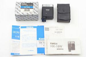 【UNUSED in BOX】 Konica Minolta HX-18W Flash for Hexar RFJapan send #047