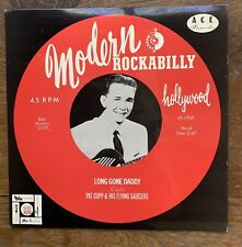 """PAT CUPP & HIS FLYING SAUCERS Modern Rockabilly 10"""" LP ACE 1981 Compilation +"""