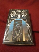 Year's Best Horror Stories XIV ed. Karl Edward Wagner SIGNED by WIlliam F. Nolan