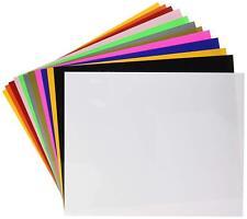 "Siser HTV EasyWeed Heat Transfer Vinyl 12x15"" 12 Color Starter Bundle"