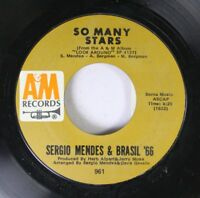 Rock 45 Sergio Mendes & Brasil '66 - So Many Stars / The Fool On The Hill On A &