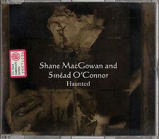 SHANE MACGOWAN & SINEAD O'CONNOR haunted +3tracks CD Single Pogues Popes